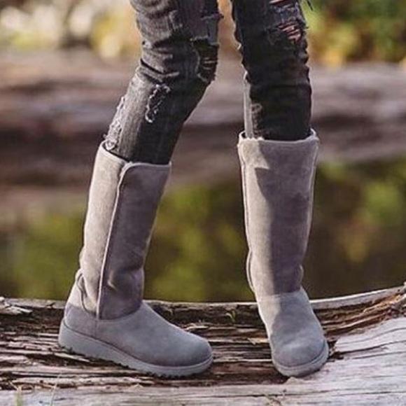 0ae82c220c9 Ugg Kara Wedge Boots